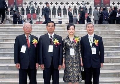 2007 粵、港、澳、台稅收征管研討會 - 各會領導合照